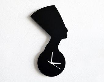 Nefertiti Egypt  - Wall Clock