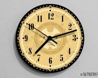 Retro Vintage Sun Wall Clock