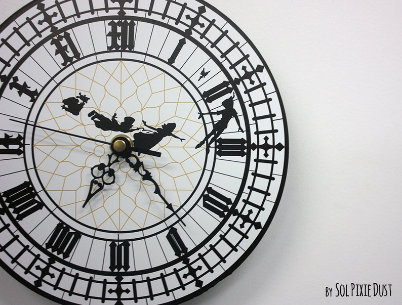 Peter Pan Big Ben Wall Clock image 0