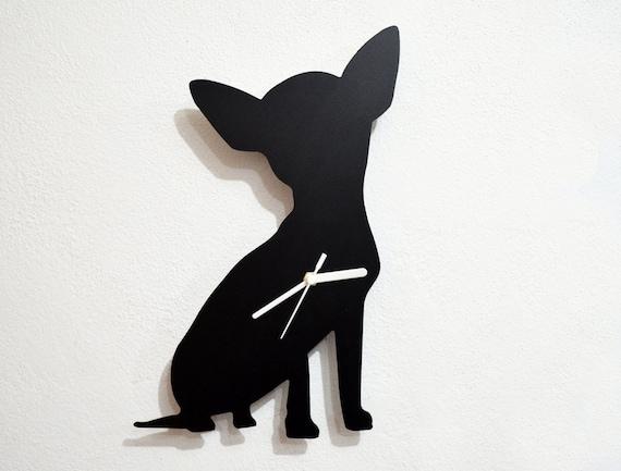 Orologio Cane Orologio Cane Da Da Chihuahua Parete Chihuahua Parete Chihuahua Cane Nwvn0m8O