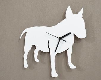 English Bull Terrier Dog  - Wall Clock
