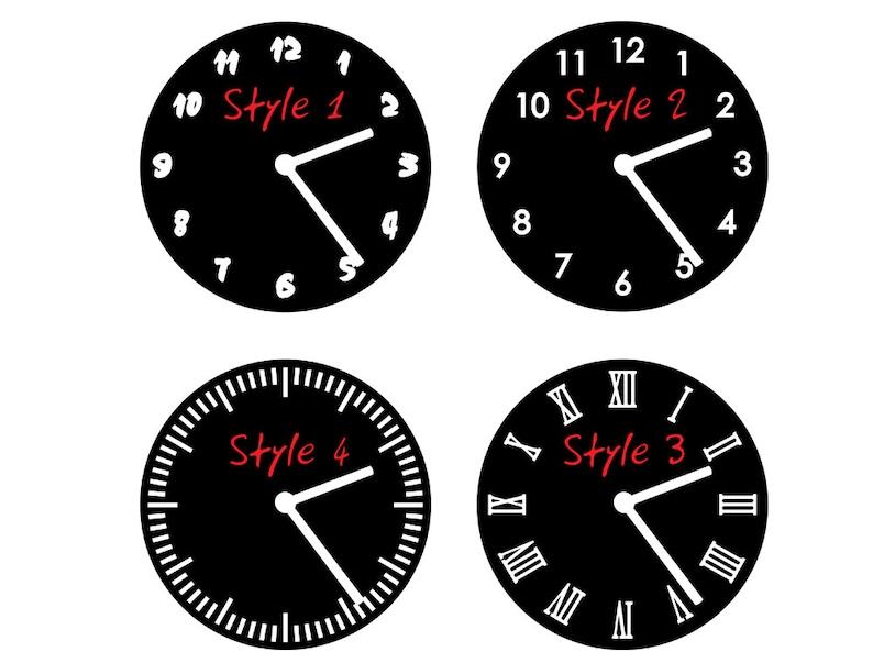 Karate Silhouette Wall Clock