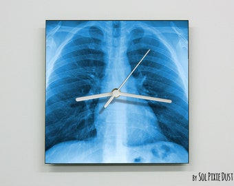 X-Ray Lungs Wall Clock