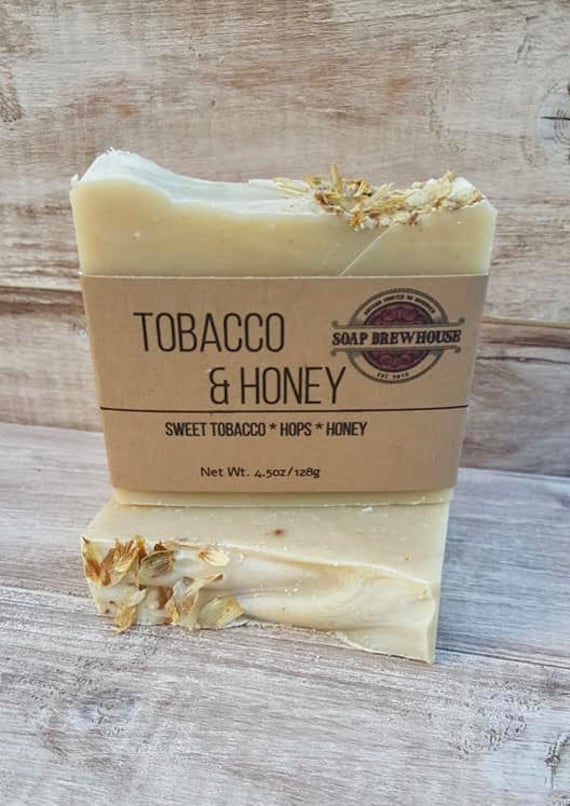 Tobacco Honey Hefe/Beer Soap/ Hops & Honey/Sweet Tobacco Scent