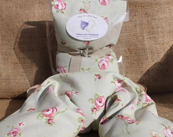 Flax Seed and Lavender Heat Pad - Rose Bud