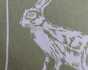 Flax Seed and Lavender Heat Pad - Hare (sage)