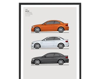 BMW 1M Coupe Poster
