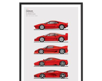 Ferrari Flagship Poster