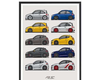 Baby Renault Megane Poster