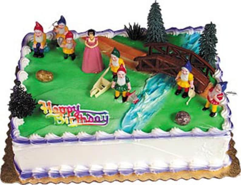 Snow White And Seven Dwarfs Cake Decorating Kit Decoration