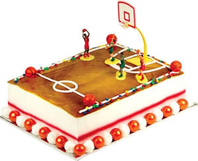 Basketball Swish Cake Decorating Kit Decoration