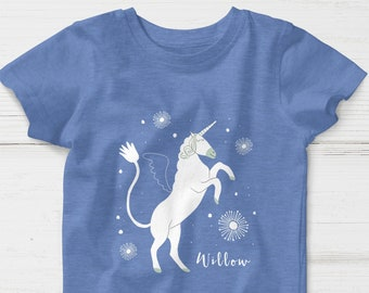 d1d0100a8b39d Baby & Toddlers Personalized Unicorn T-Shirt, unicorn t-shirt, personalized  t-shirt, unicorn t-shirt for toddlers