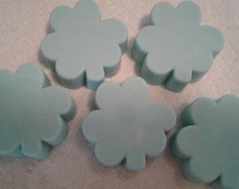 Shamrock Soap Cakes