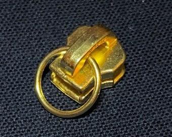 Brass Zipper Head Etsy