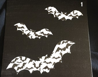Batty Bats Canvas
