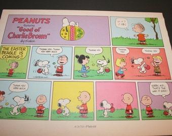Charlie E Snoopy Cane Da Lepre Di Pasqua è Venuta Woodstock Etsy