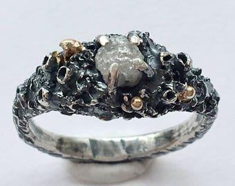 Skadi Rough Diamond Ring