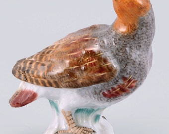 A Meissen Porcelain Figure Of A Western Yellow Wagtail, 1924-34