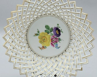 a large meissen porcelain bowl | c. 1880 (restored)