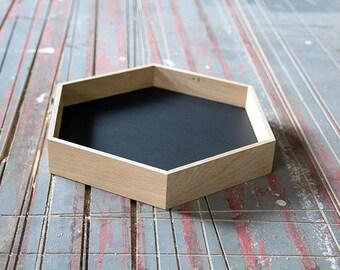 Woodpacker - Bowl hexagon large • Bowl hexagon large