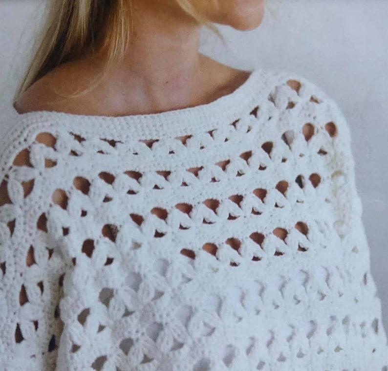 Crochet Sweater Top Pattern Crochet PDF Pattern