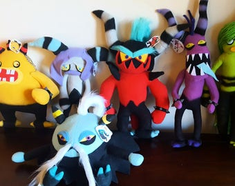 Handmade Sonic Lost World's Deadly Six Plushies