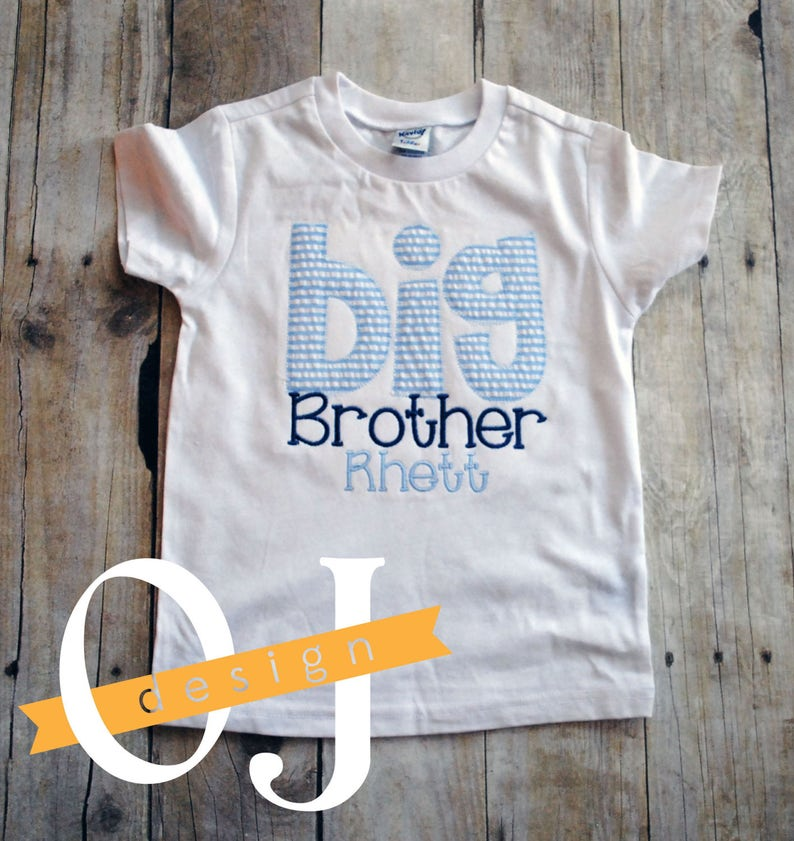 Big Brother Little Sister Personalized Baby Newborn Gift ...