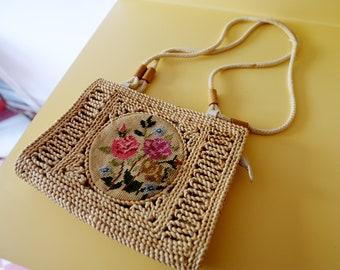 Super Cute Emboidery Vintage Purse