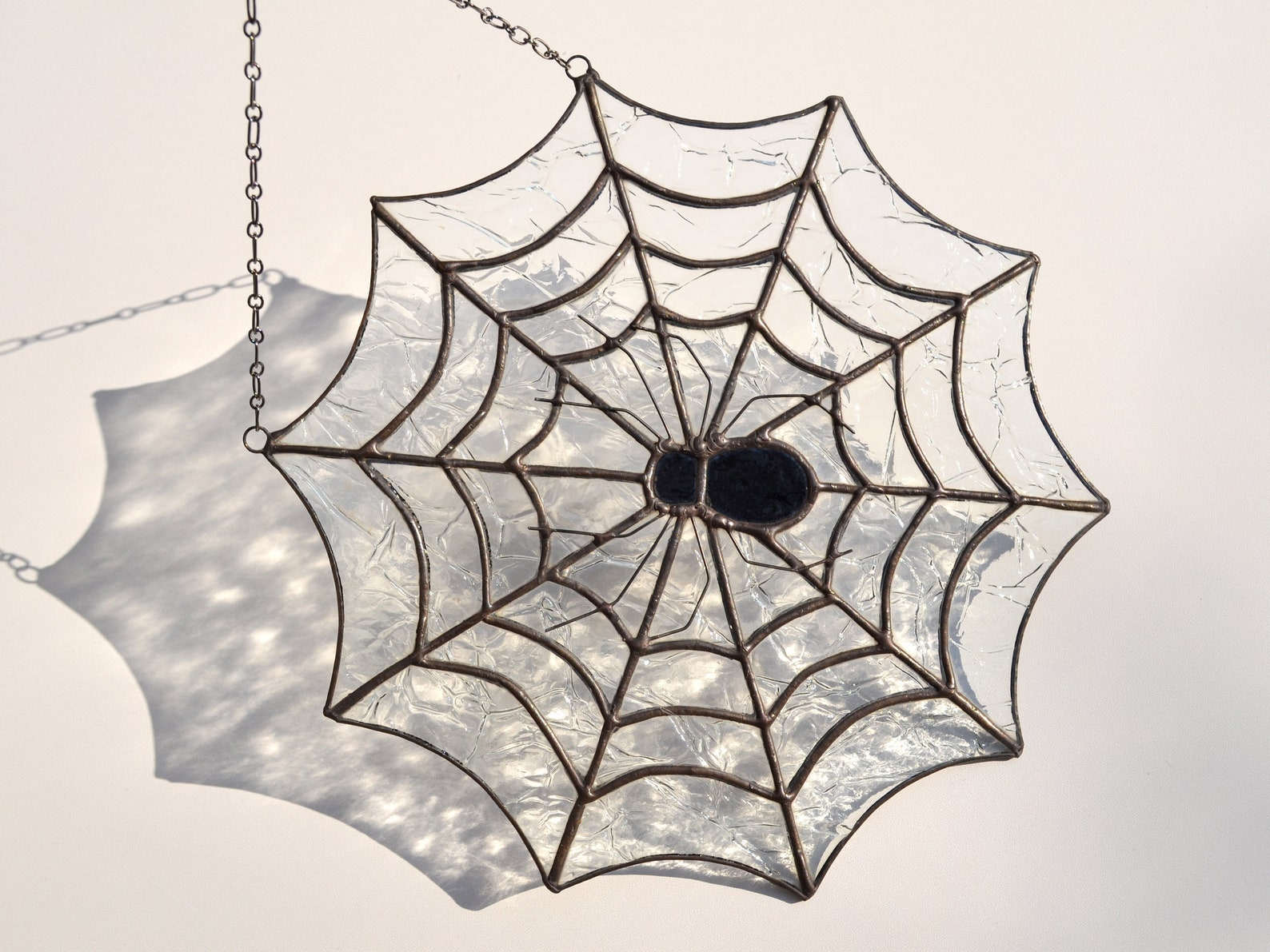 Spider Stained Glass Suncatchers Page Two