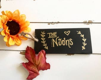 Home Decor:Chalkboard Ornament