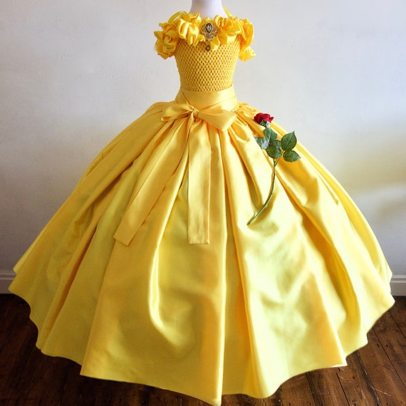 Items Similar To Belle Beauty And The Beast Inspired Gown