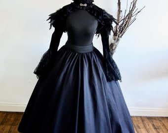 Women's Halloween Adult Evil Witch Costume, includes Free Witches Hat Various sizes