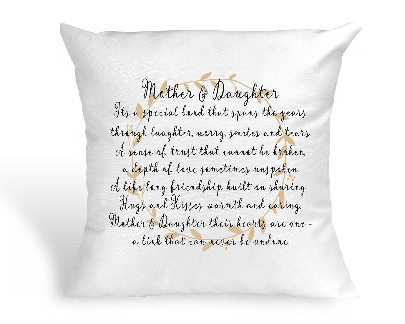 Mother Daughter Pillow Mother\'s Day Wedding Gift Anniversary Gift ...