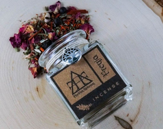 Freyja Loose Incense Blend. Norse Goddess of Love, Sex, Fertility, and Magic
