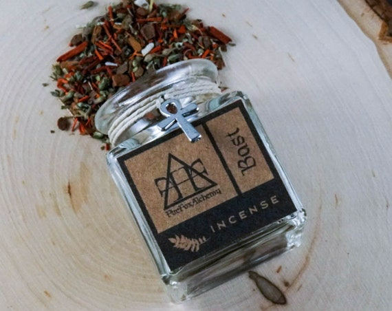 Bast loose incense blend: Egyptian Goddess of Cats and Protection.