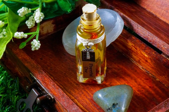 POWERFUL ONE: Ritual Oil for Sekhmet, Egyptian Goddess of Fire, War, and Dance