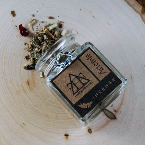 Artemis Loose Incense: Greek Goddess of The Hunt, Animals, and Women