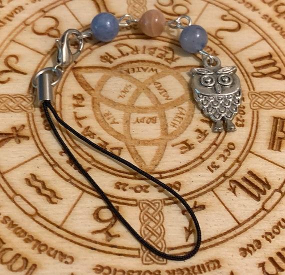 Athena Devotional Bag/Phone Charm, Bag Charm, Purse Charm