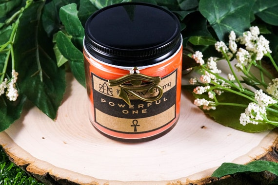 POWERFUL ONE Devotional Candle for Sekhmet 4oz