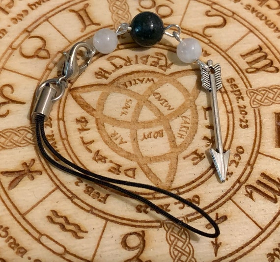 Artemis Devotional Bag/Phone Charm, Bag Charm, Phone Charm