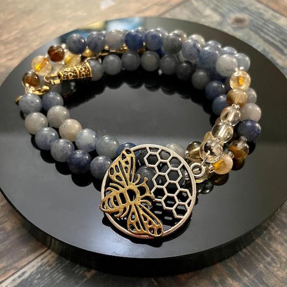 Queen Bee: Prayer Beads for Demeter / OOAK Prayer Beads