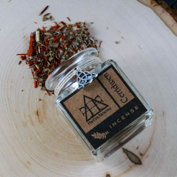 Cerridwen Loose Incense Blend: Welsh Goddess of Fertility, Transformation, and Rebirth, Ritual Incense
