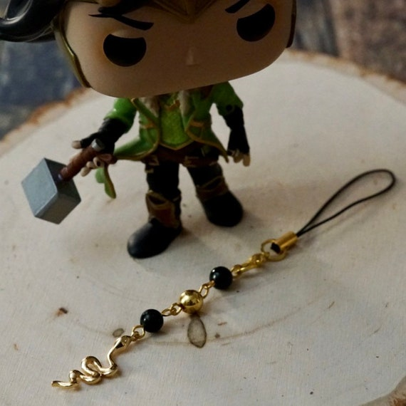 Loki Marvel Bag/Phone Charm, Bag Charm, Purse Charm