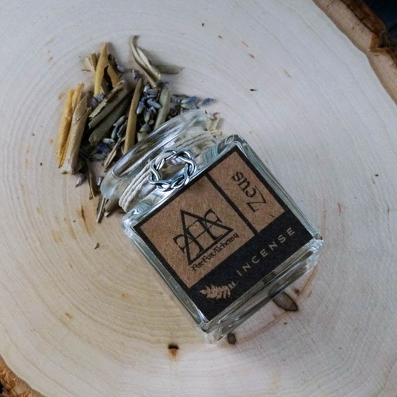 Zeus Loose Incense, Greek King of the Gods, God of The Skies and Thunder