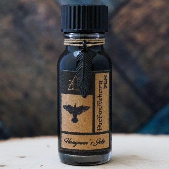 Hangman's Joke Eric Draven The Crow Oil Blend FireFoxAlchemy POP™ Oils 1/2oz Bottle