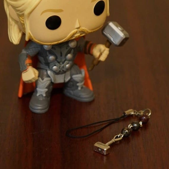 POP Marvel Thor Bag/Phone Charm