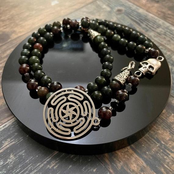 The Wheel: Prayer Beads for Hecate / OOAK Prayer Beads
