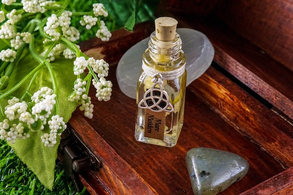 MARE MAIDEN Ritual Oil for Rhiannon, Celtic Goddess of The Moon, Horses, and Fairies