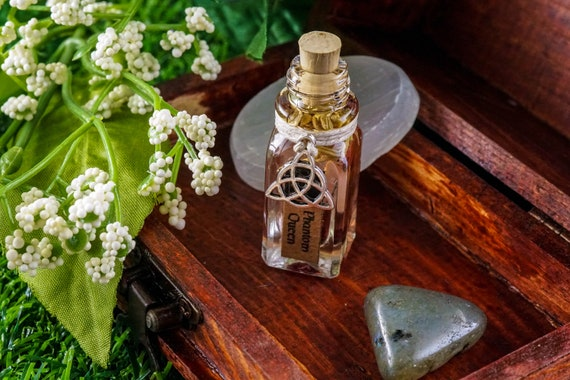 PHANTOM QUEEN: Ritual Oil for The Morrigan, Celtic Goddess of War, Fate, and Death