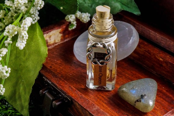 IRON QUEEN: Ritual Oil for Persephne, Greek Goddess of Spring and Queen of the Underworld